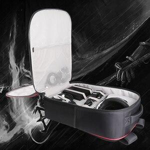 Image 4 - Bolsa BUBM para PS4 PSVR, consola de juegos, bolsa de viaje para playstation, mochila para VR, organizador de almacenamiento, bolsa para mando a distancia para Estuche de transporte de juegos