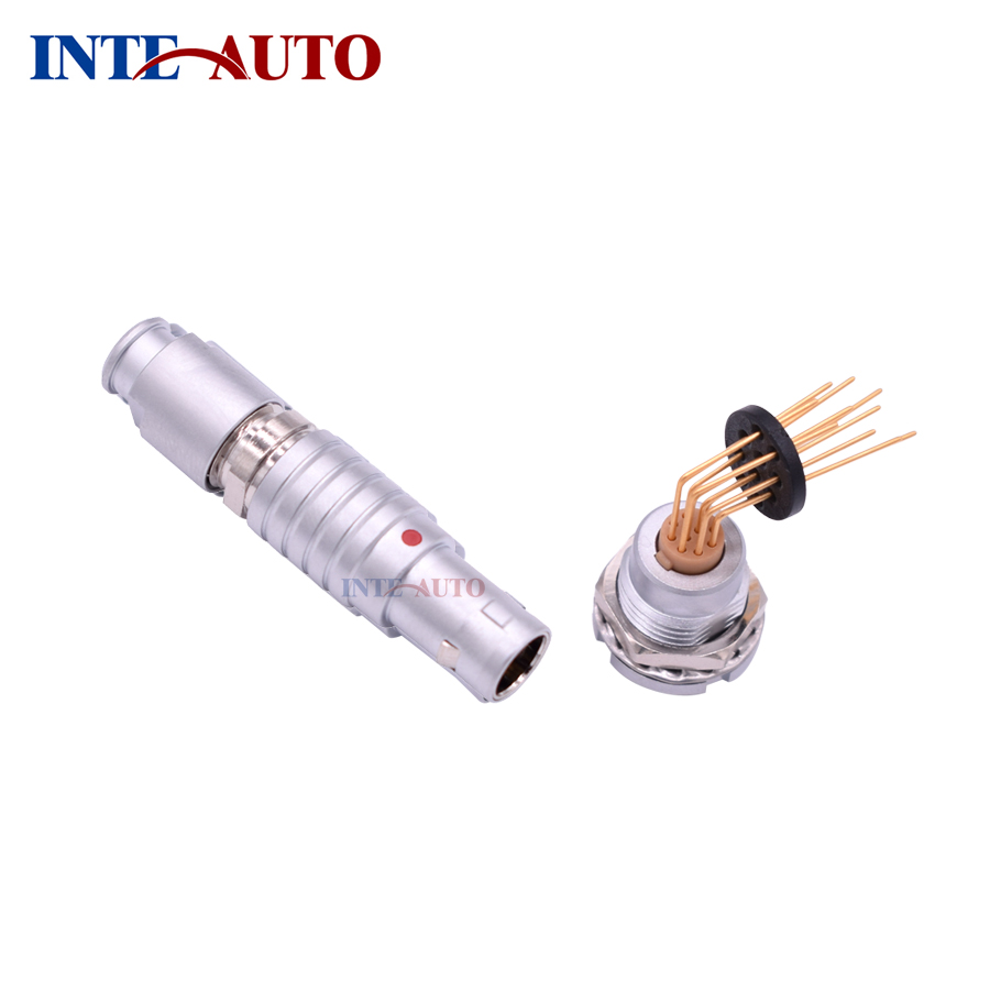 Substitute IP50 M15 10 Pins metal male female connector,receptacle with elbow PCB contacts,FGG.2B.310 ECG.2B.310.CLVSubstitute IP50 M15 10 Pins metal male female connector,receptacle with elbow PCB contacts,FGG.2B.310 ECG.2B.310.CLV