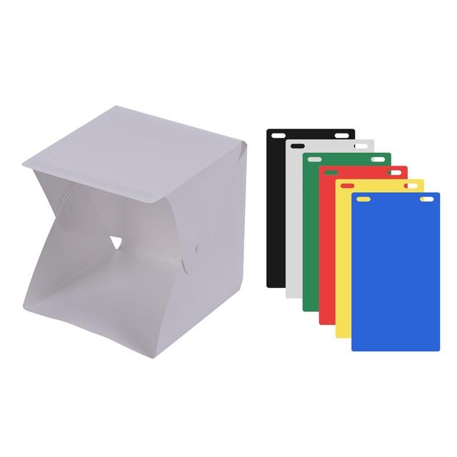 Diy Led Studio Light: Portable DIY LED Studio Light Box Tent Kit Mini Foldable