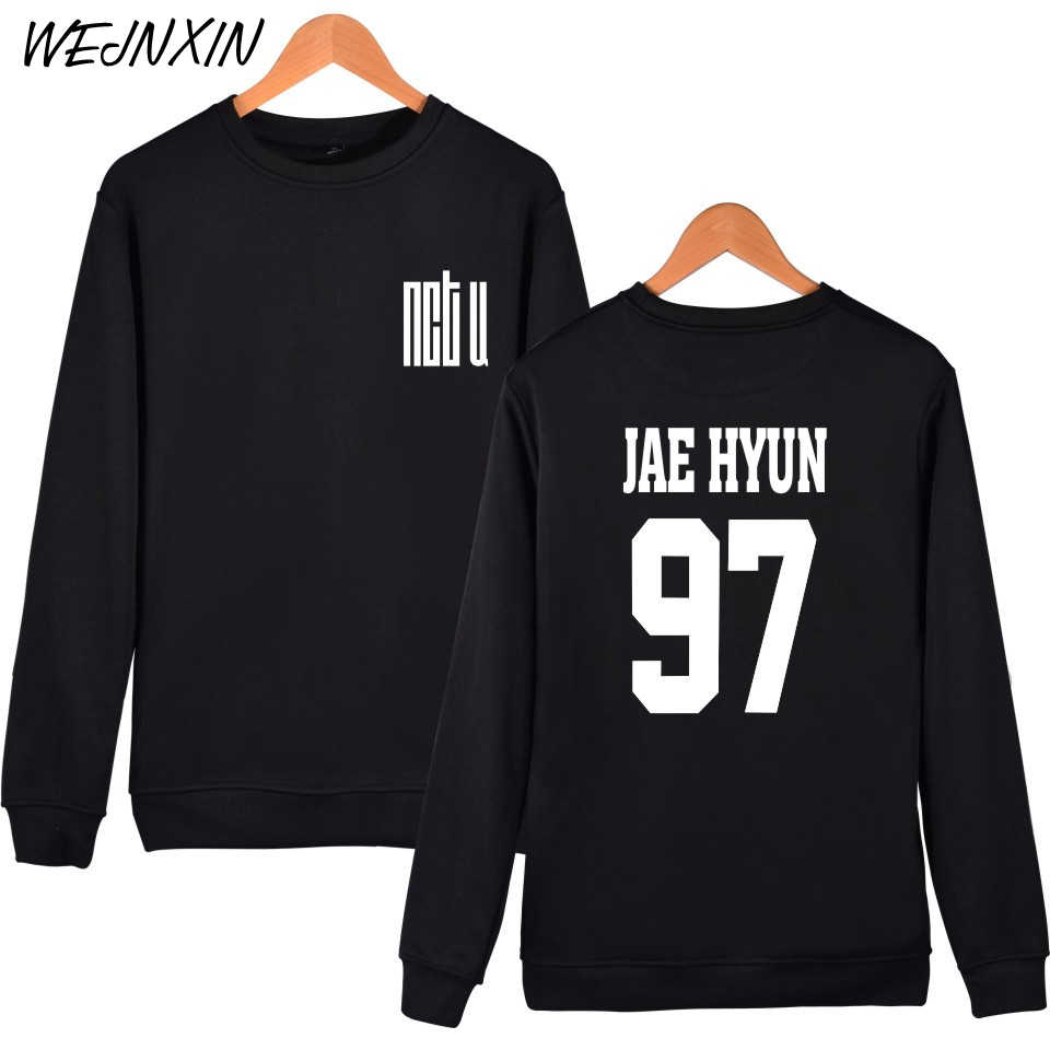 WEJNXIN NCT U Hoodies For Men Women Unisex Fans Fleece Pullovers Streetwear NCTU TEN JAE HYUN MARK YOUNG Sweatshirt Clothing