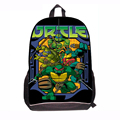 2015 Kids School Bags for Boys Teenage Mutant Ninja Turtle Bag Cartoon TMNT Schoolbag Backpack Mochilas for students