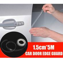 5M Guarda Borda Da Porta Do Carro Película Transparente Auto Guarda Borda Porta Bumper Capa Proteção Tintas Scratch Filme Etiqueta Do Carro styling(China)