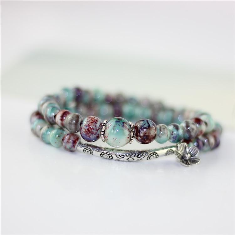 Miredo jewelry wholesale women's bracelets charms ceramic bracelete and bangles fashion accessory freeshipping #1259