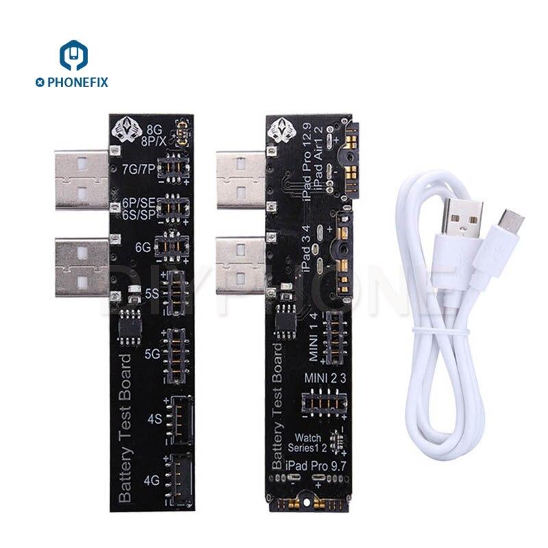 PHONEFIX Batterij Tester Batterij Informatie Test Tool Voor iPhone X 8 8 p 7 plus 6 6 s 5 5 s 4 4 s iPad Mini Air Een Sleutel Clear Cyclus - 2