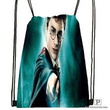 Custom harry-potter- Drawstring Backpack Bag for Man Woman Cute Daypack Kids Satchel (Black Back) 31x40cm#20180611-03-158