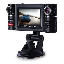 """Dual Lens 2,7 """"Auto DVR Camcorder Auto Kamera HD Windschutzscheibe Einstellbar Breite Ansicht 180 Grad Fahren Recorder Nacht Modell Dashcam"""