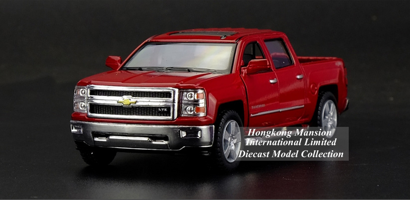 136 Car Model For Chevrolet SILVERADO Pickup (3)