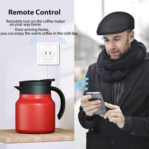 Image 5 - DveeTech Wifi תקע ממסר Wifi חכם שקע עם אמזון Alexa Google בית IFTTT מרחוק מתג לוח on/off אנרגיה צג