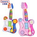 Guitarra de educação Toy bebê crianças crianças música brinquedos de Piano para crianças Rock Pop Blues aprendizagem precoce atração brinquedo instrumento Musical
