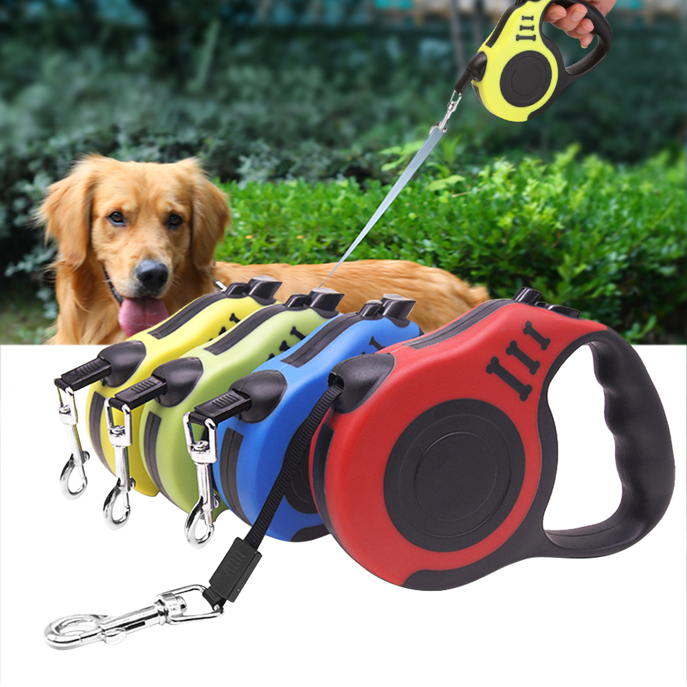 3M/5M Retractable Dog Leash Automatic Flexible Dog Puppy Cat Traction Rope Belt Dog Leash For Small Medium Dogs Pet Products bracelet