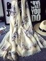 180x100 cm Algodón Cráneo Diseñador Bufanda Mujeres Bufandas Bufandas Del Mantón de Hijab Echarpe Foulard Cabo Poncho Chales Y Bufandas SF0298