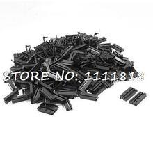 200 Шт. Плоский Кабель 2 Строка 26 Pin IDC Socket Соединительный Черный
