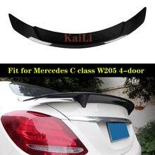 Задний спойлер для mercedes c class w205 4 дверного седана 205
