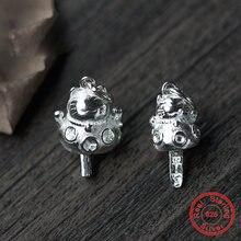 Uqbing оптовые аксессуары из настоящего серебра подвески маленького