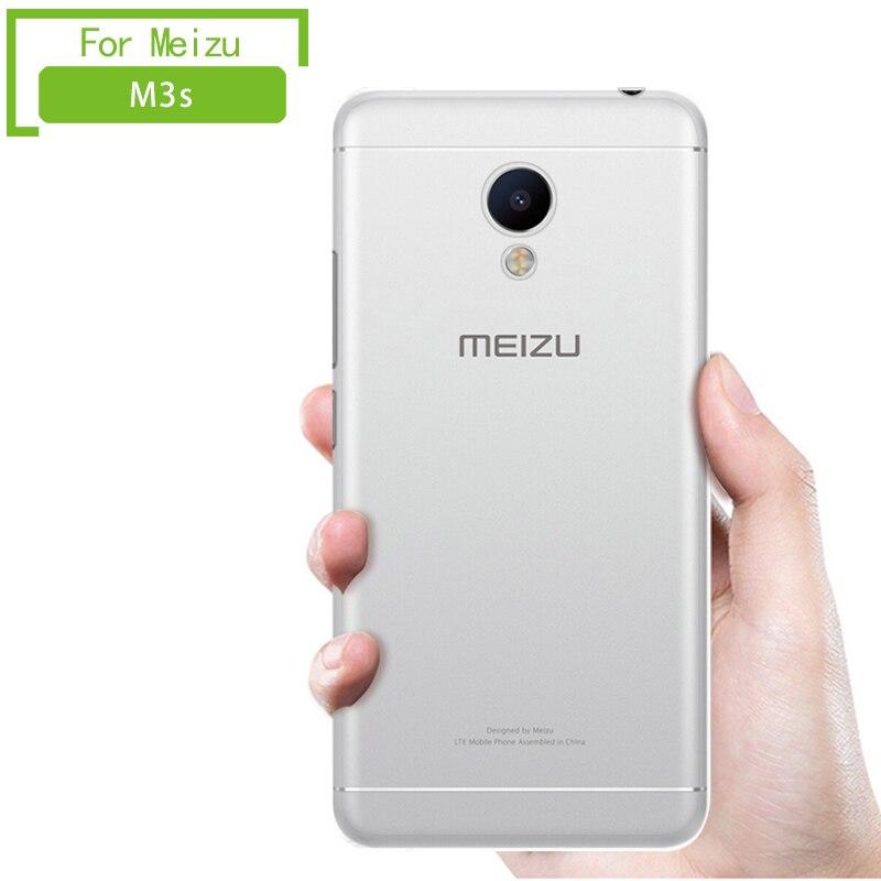 Galleria fotografica Meizu m3s cas tpu retour meizu m 3 s souple effacer <font><b>cover</b></font> retour silicon <font><b>smartphone</b></font> accessoires au détail d'origine MOFI 5.0 pouce