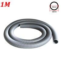 1M Inner Diameter 50mm Vacuum Cleaner Thread Hose Soft Pipe Durable Water Absorption Machine Tube Straws Vacuum Cleaner Parts|Vacuum Cleaner Parts| |  -