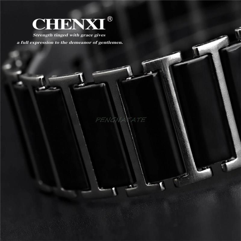 CHENXI NYHET Fashion Women Watch Men Topp Märke Luxury Armbandsur - Herrklockor - Foto 6