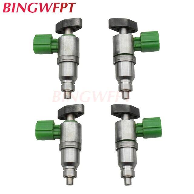 4PCS Fuel Injectors For Nissan Sentra/Bluebird/Sylphy/Primera QR20 QR25 QR25DD 16600AL560 17520 AE050 17520 AE051