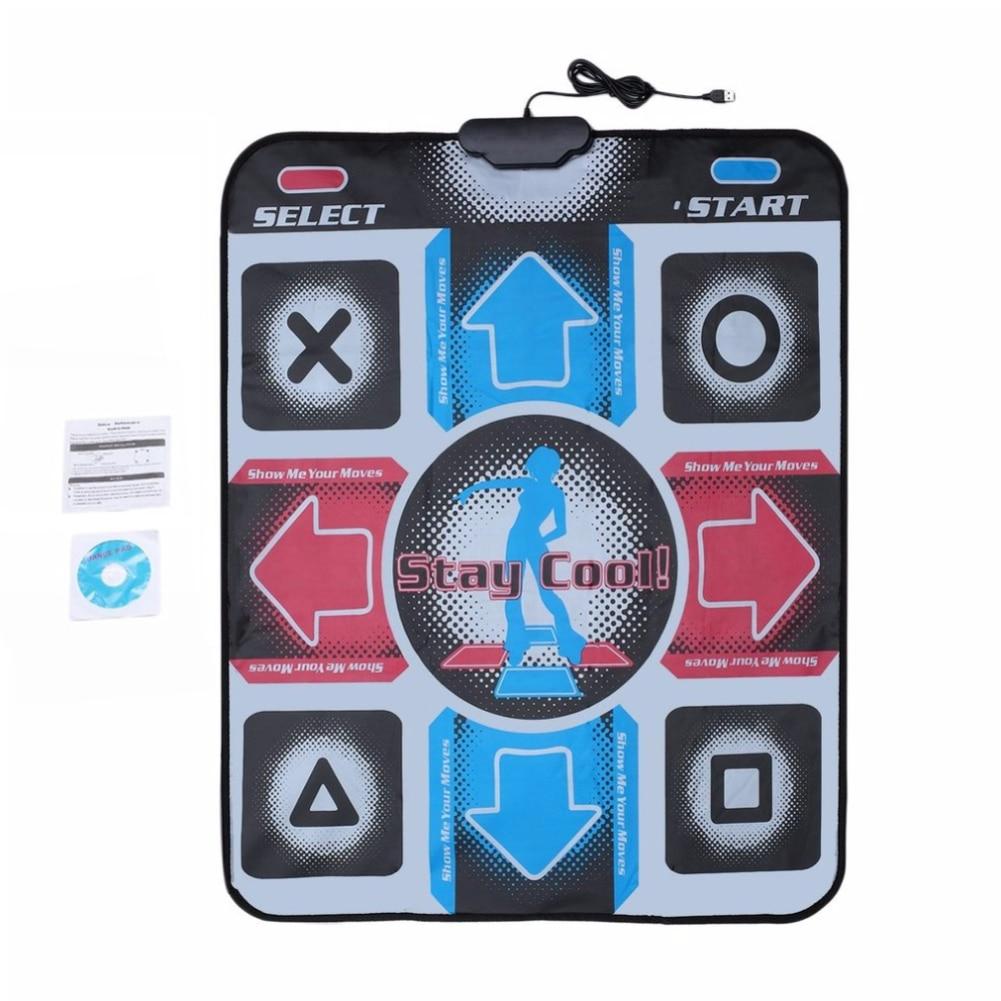 Baby Play Mat Video Arcade Dance Gaming Mats Anti-Slip Dancing Step Dance Mat Pads To PC USB Dancing Mat
