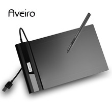 Aveiro Drawing tablet Graphic tablet 6 x 4 inch Graphic Drawing For Kid Birthday Gift the xp pen g430 4 x 3 inch ultrathin graphic drawing tablet for game osu and battery free stylus designed gameplay