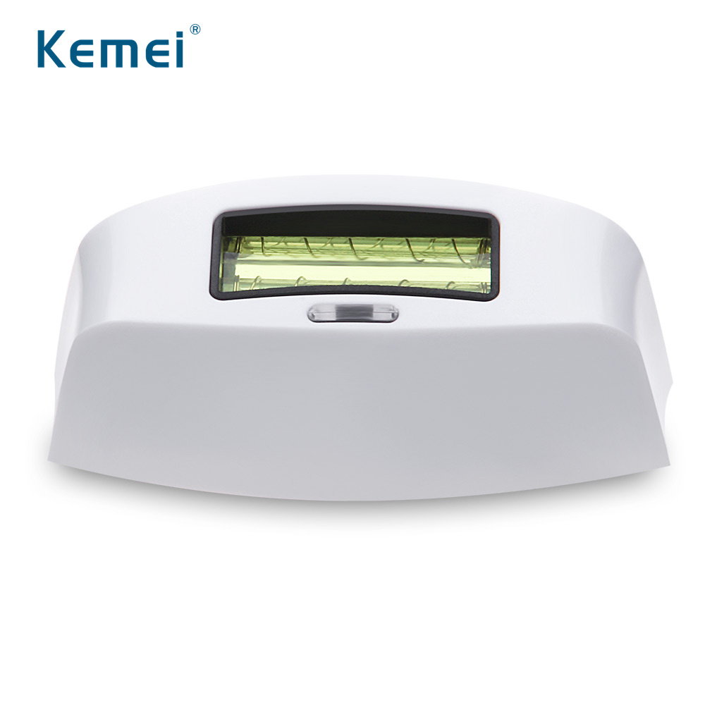 Kemei KM-6812 Laser Machine Replacement Head For Painless Photon Hair Removal Epilator laser epilator shaving replacement machine head hair removal depilator for g920 y05 c05