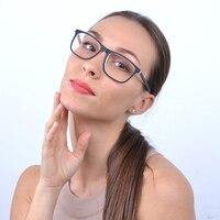 Elegante Gafas Marcos hombres mujeres espectáculo Marcos óptico Gafas con vidrio claro marca transparente Gafas color blanco