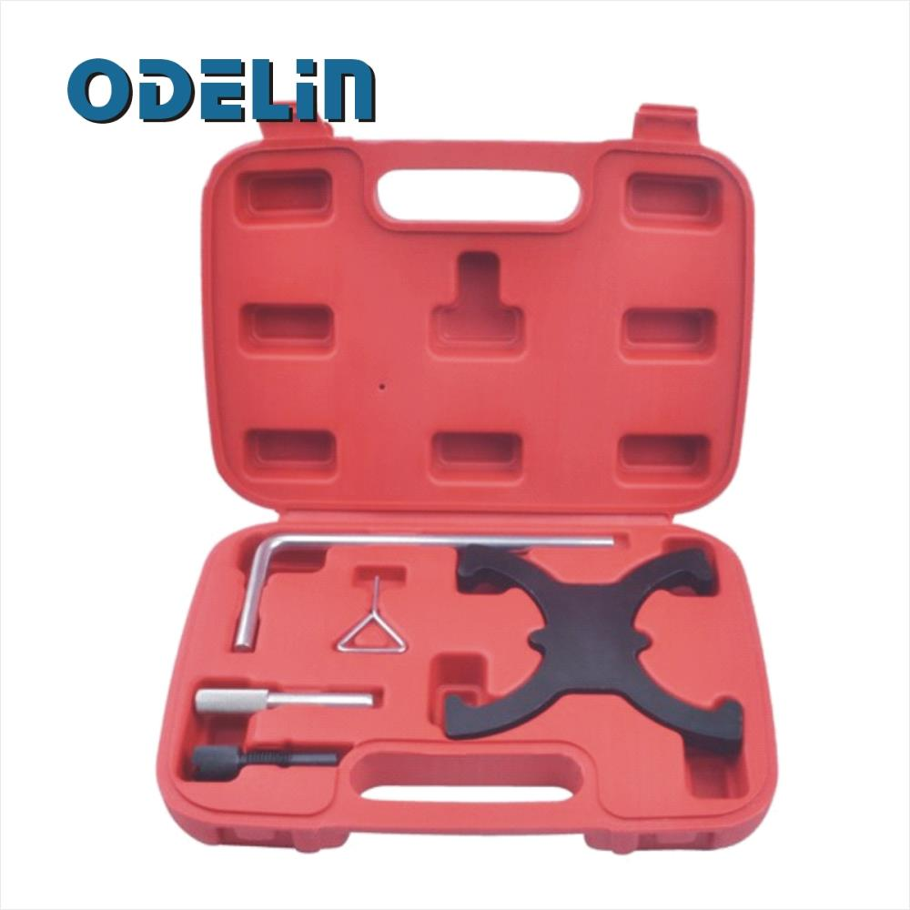 Petrol Engine Timing Camshaft Crankshaft Lock Tool For Ford Focus C MAX 1.6 TI-VCT engine setting locking combination kit master engine timing tool set fits for ford 1 4 1 6 ti vct tdci 1 8 2 0 16v 2 2 tdci