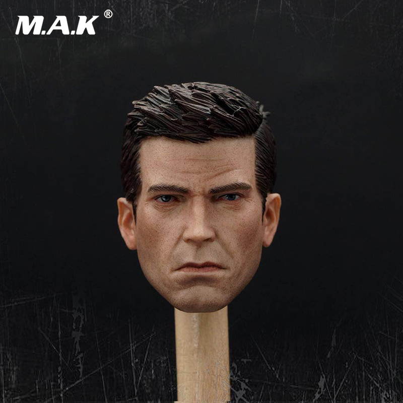 Batman: Arkham Knight 1/6 Scale Mr Ben Head Carving Model Fit 12Collectible Doll Toys Accessories 1 6 soldier clothes death game bruce lee suit head carving fit 12collectible doll toys accessories