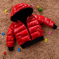Fashion 2016 Children Cotton Outwear Boys And Girls Winter Coat Children Clothing Baby Winter Thicken Cotton-padded Jacket