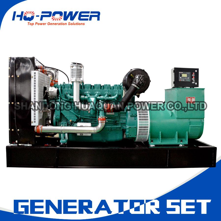 hospital use 220v permanent magnet low fuel consumption 250kw diesel generator