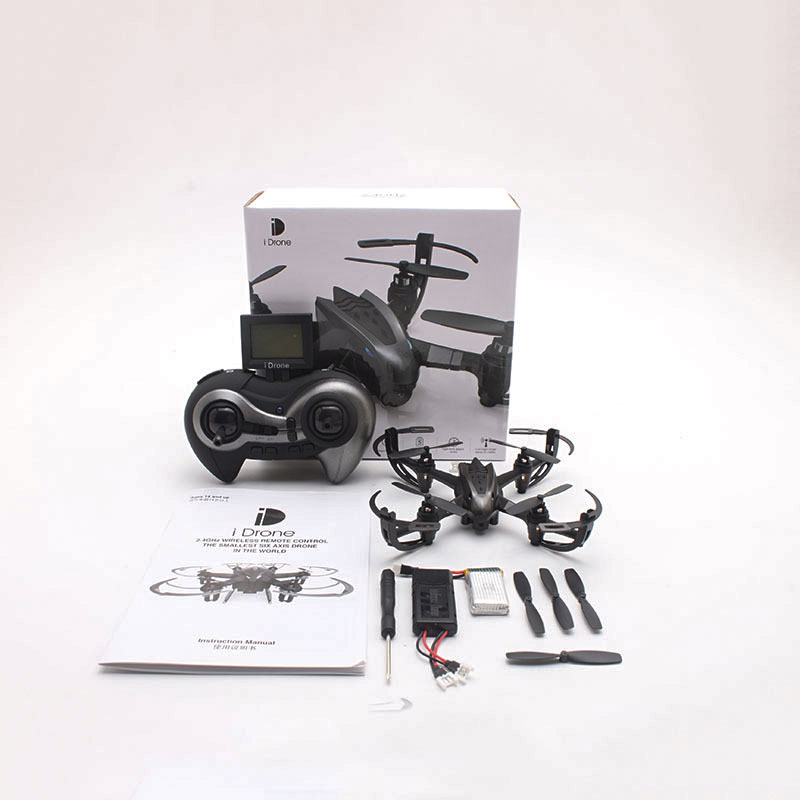 ФОТО i4S 2.4Ghz 6 Axis Gyro RC Quadcopter Camera 3D Roll Helicopter Drone Black