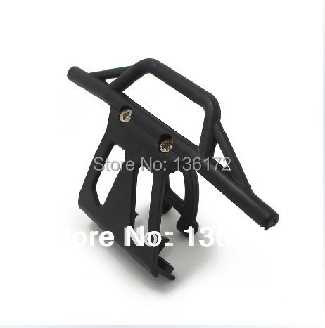 2pcs/lot henglong 1/10 rc car  3851-2 Mad truck Parts No 71 Front Bumper for heng long rc car  free shipping
