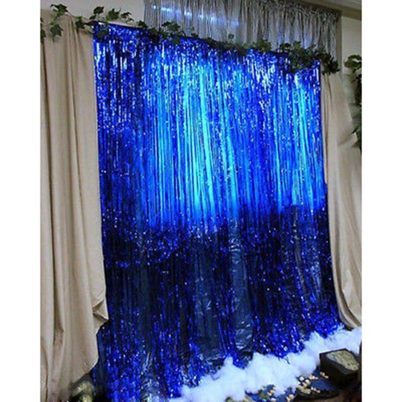 curtain silver dzd fringe curtains item grey