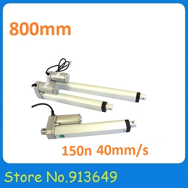 Stroke 800mm/DC 24V/150N actuator motor Linear actuator,Electric actuator,DC Reciprocating motor-1PC dental endodontic root canal endo motor wireless reciprocating 16 1 reduction