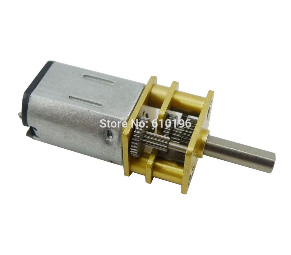 10PCS LOT N20 Mini 12V DC 200 RPM High Torque Electric Gear Box Motor