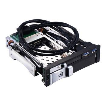 2.5 + 3.5 SATA disque dur caddy plateau multi-fonction 2.5 disque dur cas 3.5 SATA support interne de l'enceinte hdd mobile rack