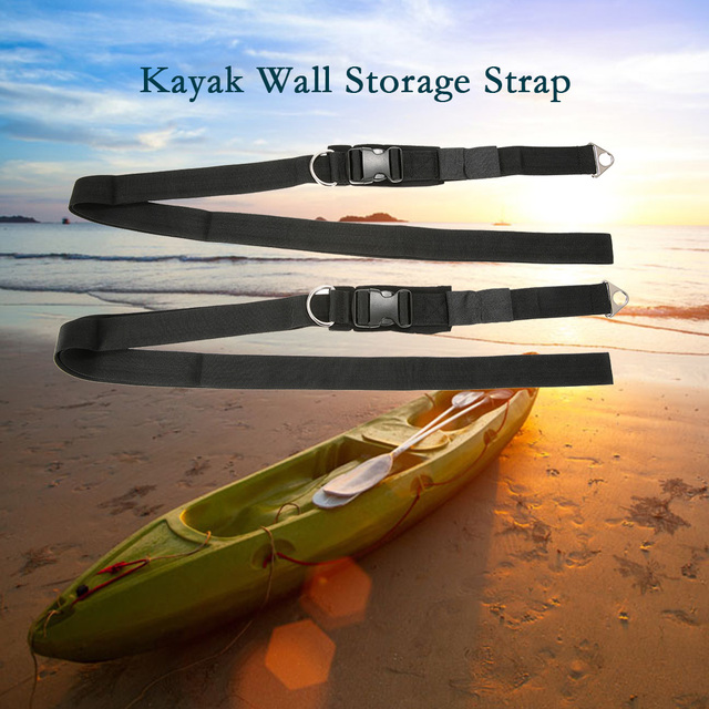 Kayak Wall Hanger >> Kayak Wall Hanger Straps Webbing For Boat Kayak Sup Storage Strap Rack Keeper Garage