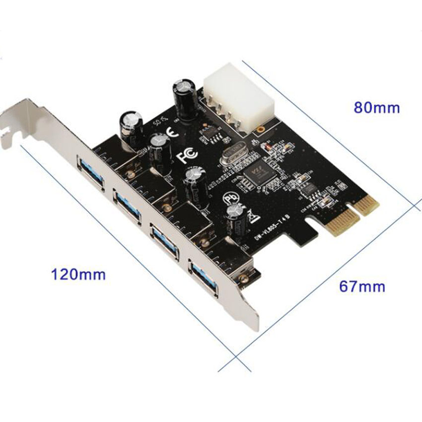 STW 3002 PCI E USB 3 0 expansion card prepositioned usb3 0 20pin 2 USB 3 0 card in Fans Cooling from Computer Office