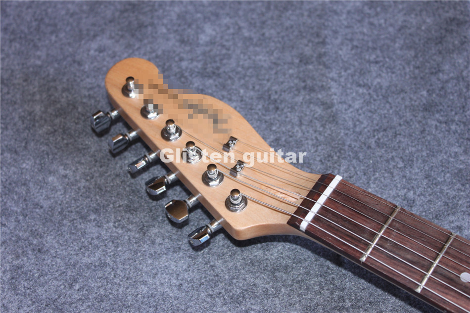 Nouveauté guitare électrique bleue, livraison gratuite - 3