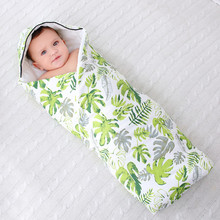 Baby Swaddle 85x85cm Baby Blanket Thick Warm cotton polyester Envelopes For Newborns Infant Wrap Baby Bedding