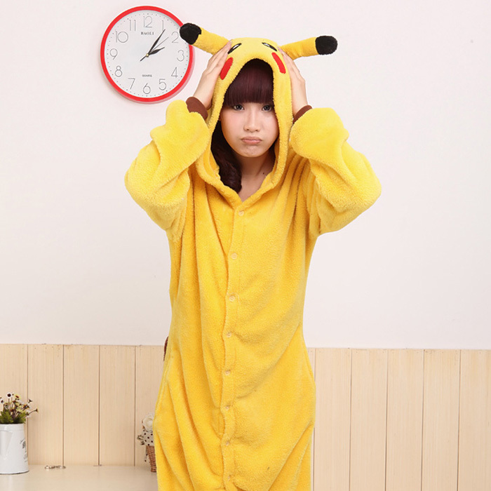 New Japan Anime Pokemon Pikachu Cosplay Costume Animal Pajamas in Stock for  Sale-in Anime Costumes from Novelty   Special Use on Aliexpress.com  807a83d2b