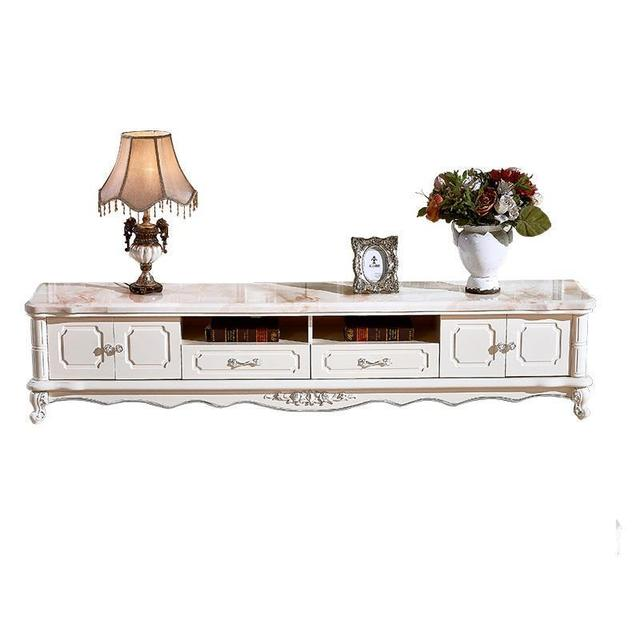 Lcd Flat Screen De Pie Meubel Led Soporte Monitor Unit Cabinet European Wood Table Meuble Mueble Living Room Furniture Tv Stand