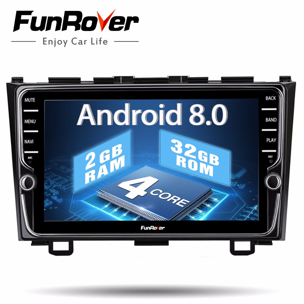 Funrover IPS Android 8.0 Car dvd multimedia player For Honda CRV 2006-2011 with car radio video player gps navigation 2 din RDSFunrover IPS Android 8.0 Car dvd multimedia player For Honda CRV 2006-2011 with car radio video player gps navigation 2 din RDS