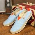 Nuevo Llegan 2016 hombres de Moda de Verano Zapatos Para Caminar Transpirable Hombres Slip-En el Zapato Casual Estilo de Los Hombres de Alta Calidad zapatos