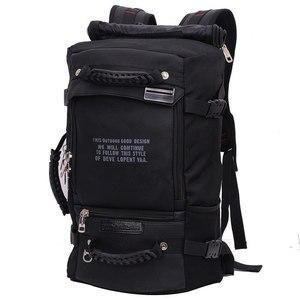 Image 1 - ノートパソコンのバックパック 17 18 インチのラップトップバッグ 17.3 15.6 14 インチ屋外大旅行バックパックショルダー男性バッグ容量マルチ目的