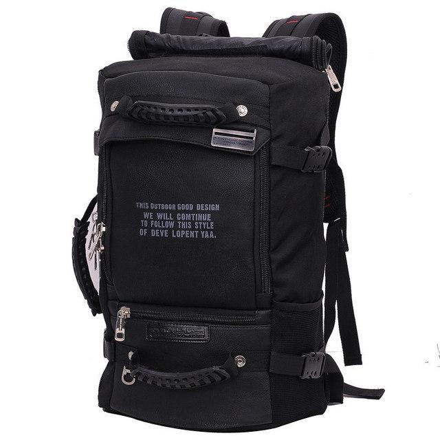 كمبيوتر محمول على ظهره 17 18 بوصة حقيبة لابتوب 17.3 15.6 14 بوصة في الهواء الطلق حقيبة السفر الكبيرة الكتف الرجال حقيبة سعة متعددة الأغراض