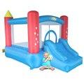 Yard uso home mini seguranças inflável crianças brinquedos castelo bouncey para festa de aniversário