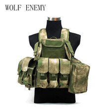 New Militaria Ciras Mar Vest kültéri taktikai mellény Camouflage Vest Army Training Combat Uniform