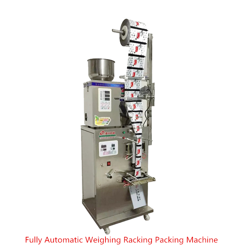 2-100g Accurate Granular Powder Medicinal Filling Machine Fully Automatic Weighing Racking Packing Cursor Positioning