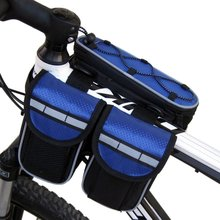 Outdoor Sport Bicycle 4 in 1 Saddle Bag Package Bike Tube